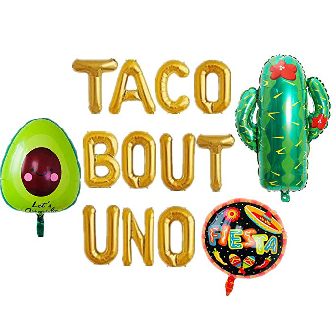 Taco Bout UNO Balloons