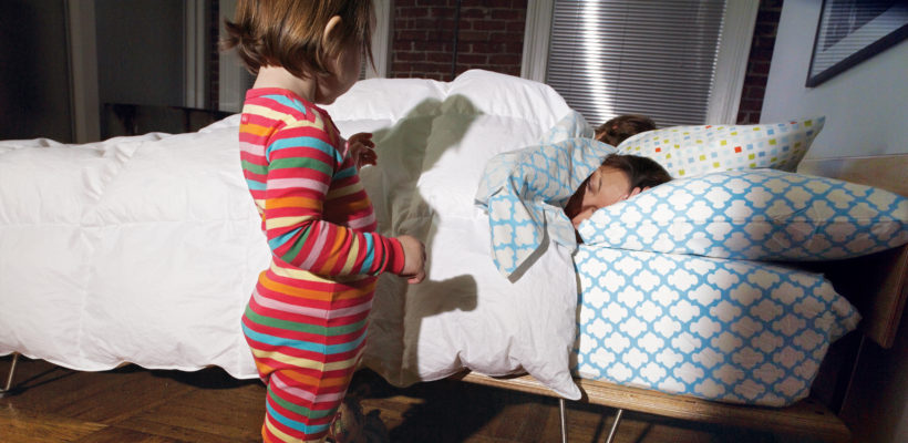 Three's a crowd! Are you tired because your toddler keeps getting out of bed in the middle of the night and joining you under the covers? The nightmare is over! Here's your step-by-step guide to getting your toddler to sleep…