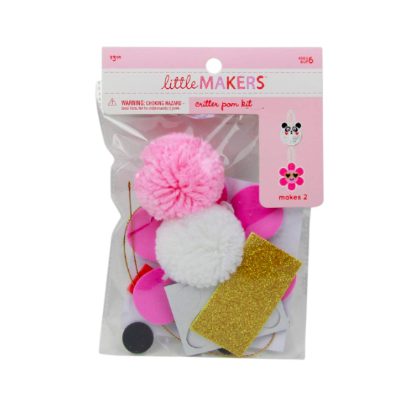 Little Makers Valentine's Day Critter Pom Pom