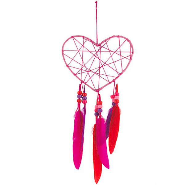 Heart Dream Catcher Craft Kit