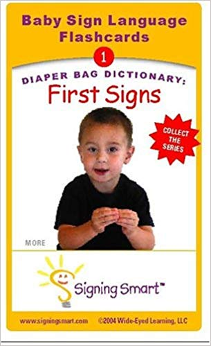 Signing Smart Diaper Bag Dictionary: First Signs Baby Sign Language Flashcards by Michelle Anthony