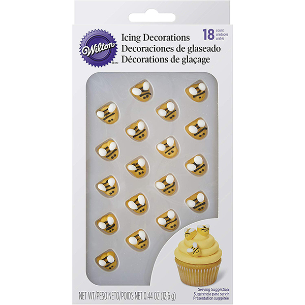 Wilton Bumble-Bee Icing Decorations