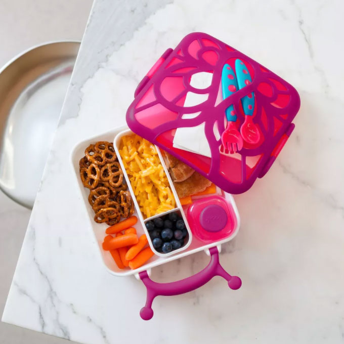 Boon Butterfly Bento Lunch Box