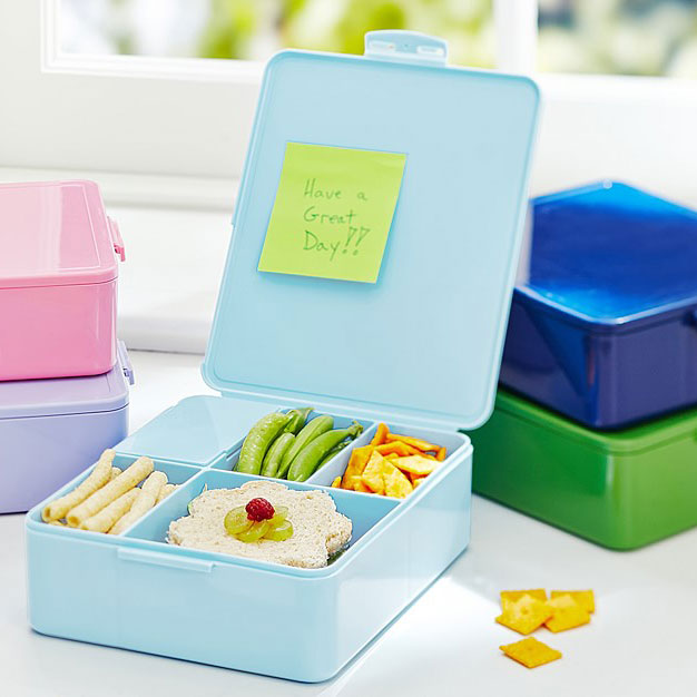 Pottery Barn Kids Spencer Bento Box Container