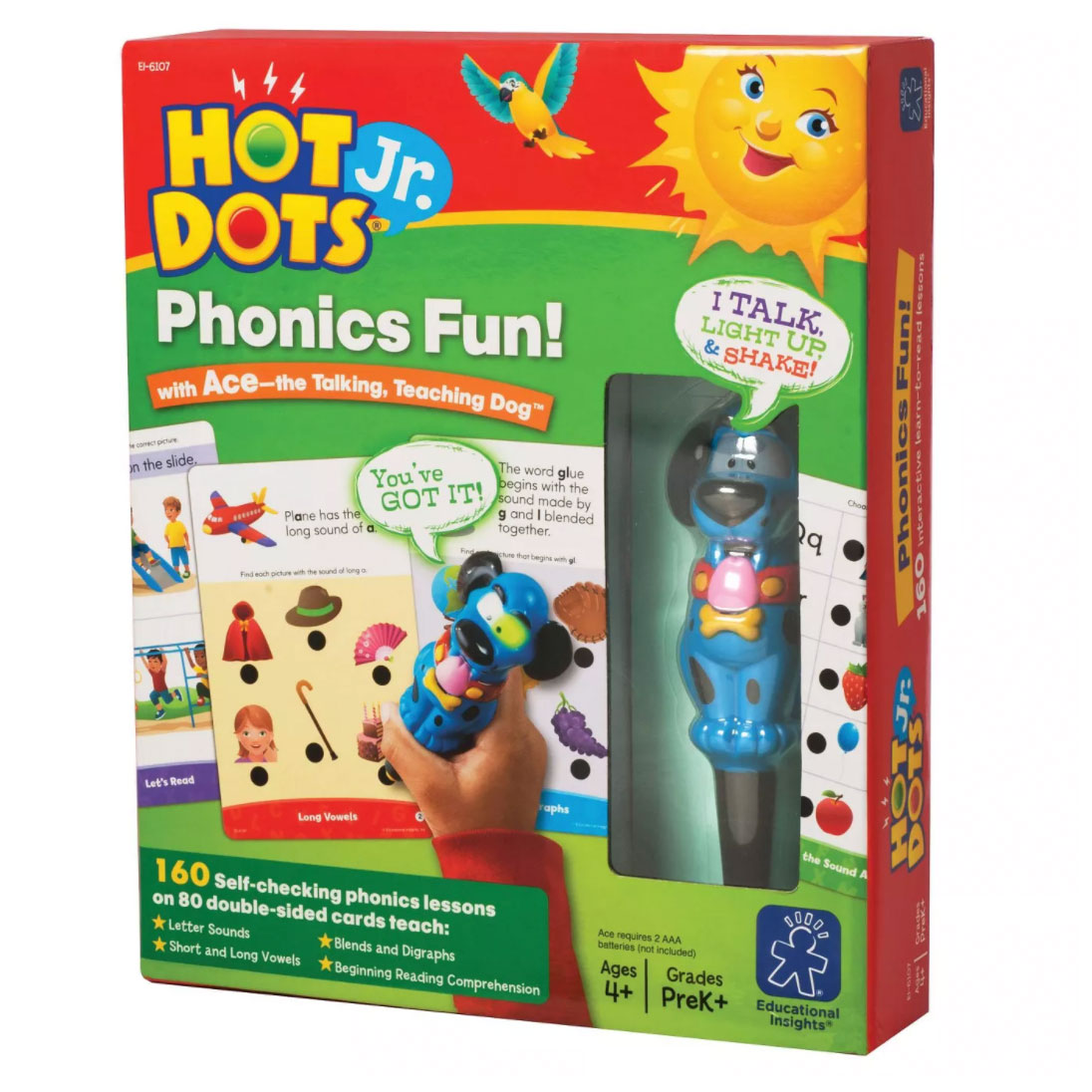 Hot Dots Jr. Phonics Fun!