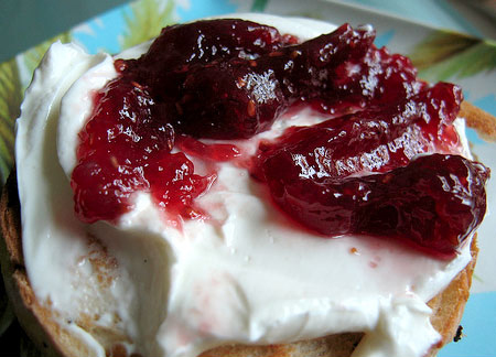 Pita-Butter and Jelly