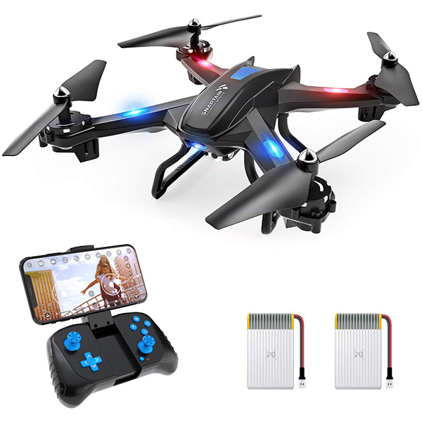 SNAPTAIN WiFi Drone with HD Camera