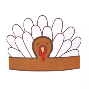 thanksgiving crafts for kids turkey headband