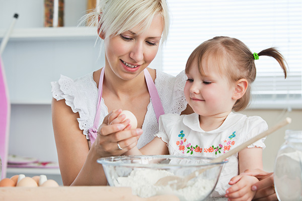 Mommy-and-Me Baking Party