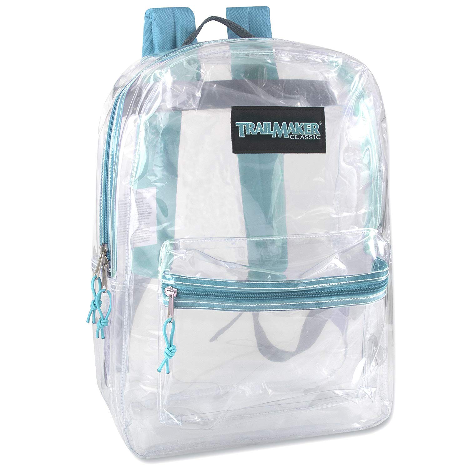 Trail Maker Clear Backpack With Reinforced Strap