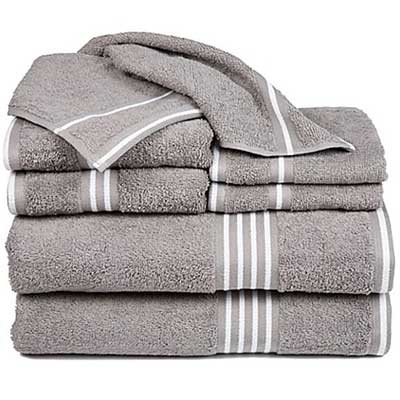 Nottingham Home Rio Bath Towels (Set of 8)