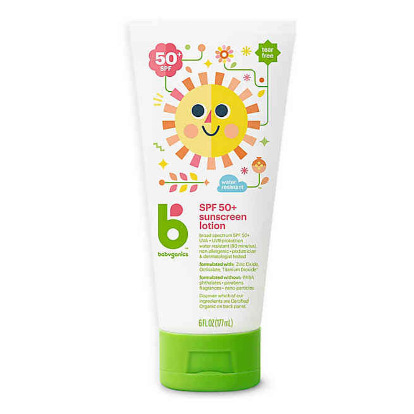 Babyganics 50+ SPF Sunscreen Lotion