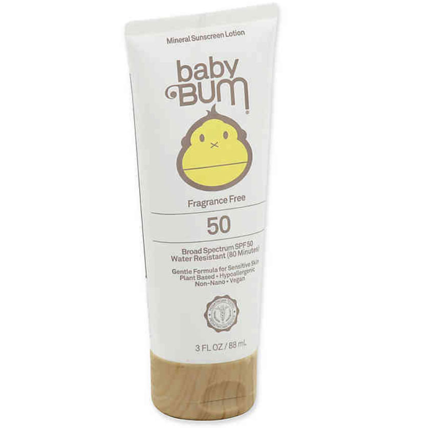 Sun Bum Baby Bum Mineral Lotion Sunscreen SPF 50