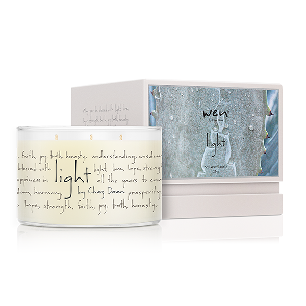 WEN Light 3-Wick Candle