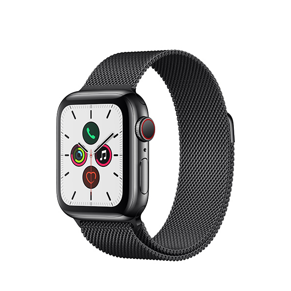 Apple Watch Series 5 with Aluminum Case and Loop Band