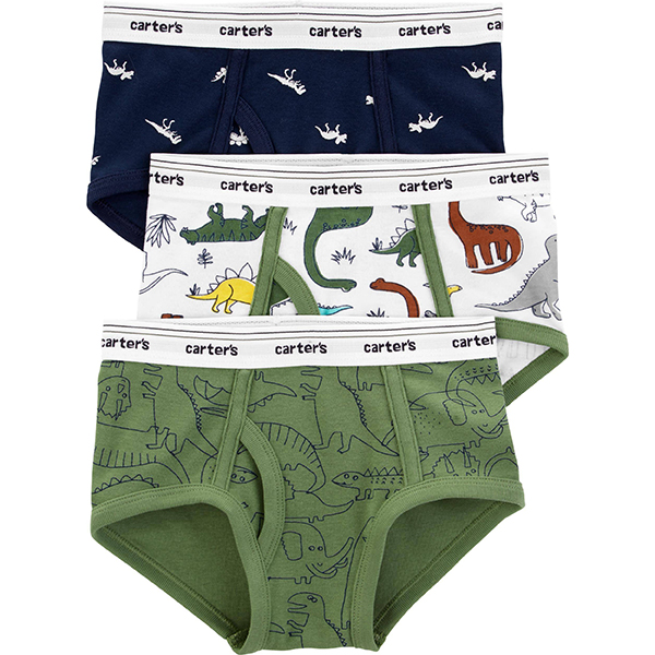 Carter's 3-Pack Cotton Underwear for Toddlers