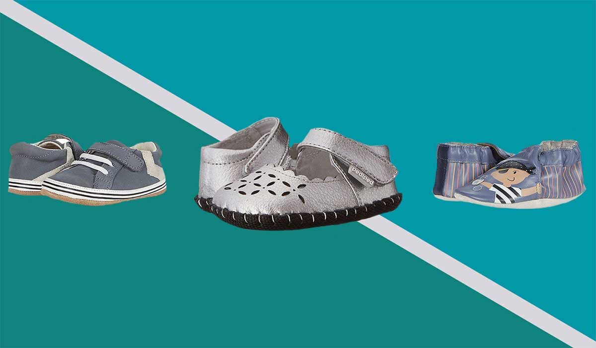 The Best Baby Walking Shoes That'll Stay Put on Squirmy Feet