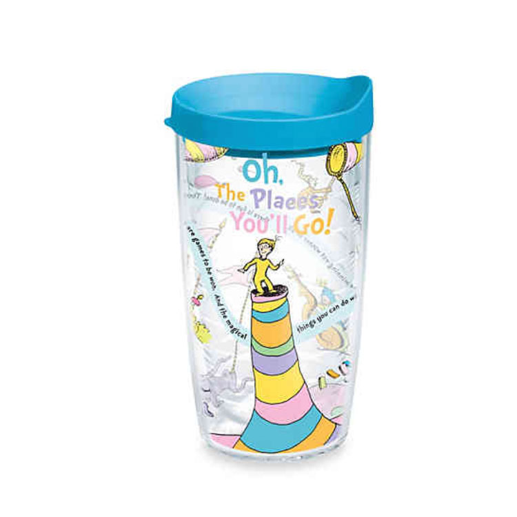 Tervis Oh! The Places You'll Go Wrap Tumbler with Lid