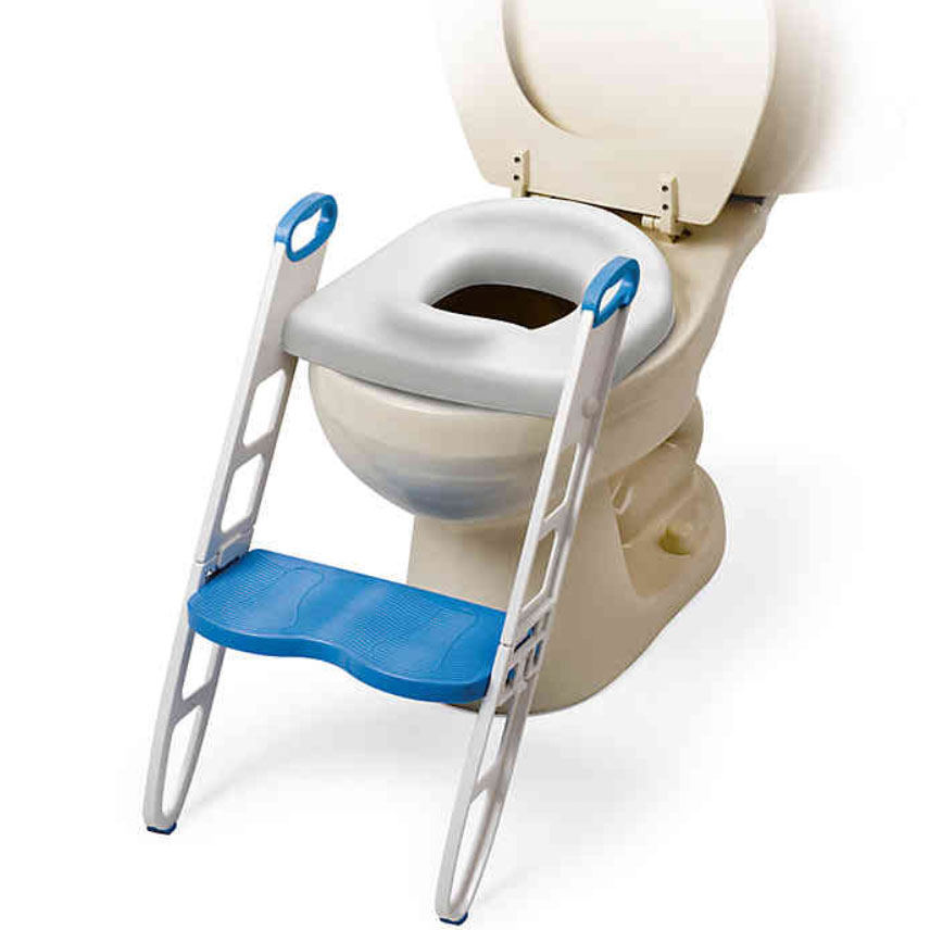 Mommy's Helper Padded Potty Seat with Step Stool