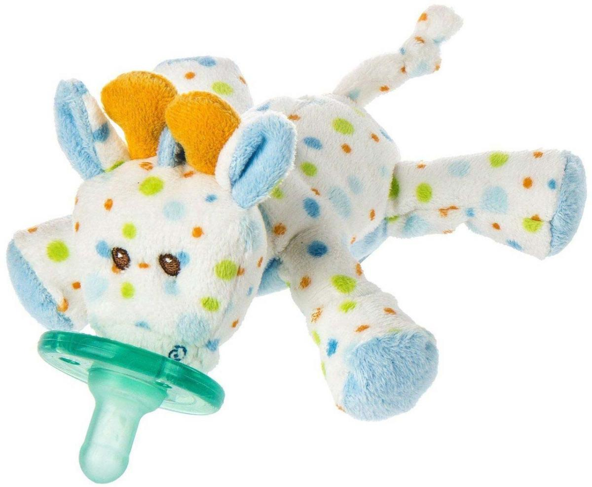 WubbaNub Little Stretch Giraffe Pacifier