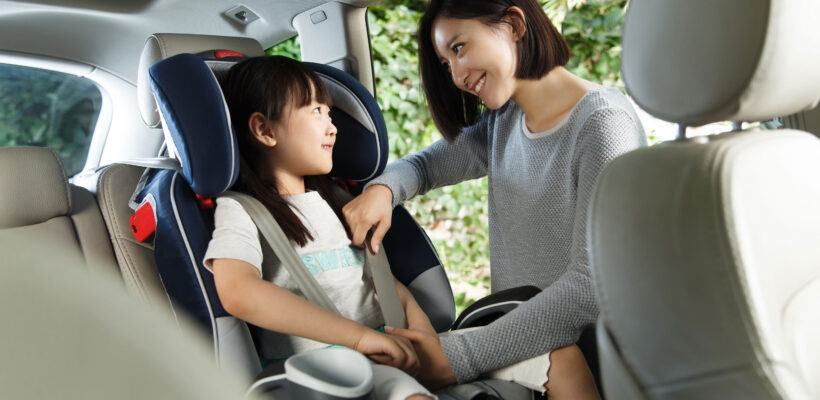 A booster seat does exactly what you think it does: boost a child up higher so a car seat belt fits around them more snugly and safely. When your kiddo reaches the maximum weight and height requirements for forward-facing car…
