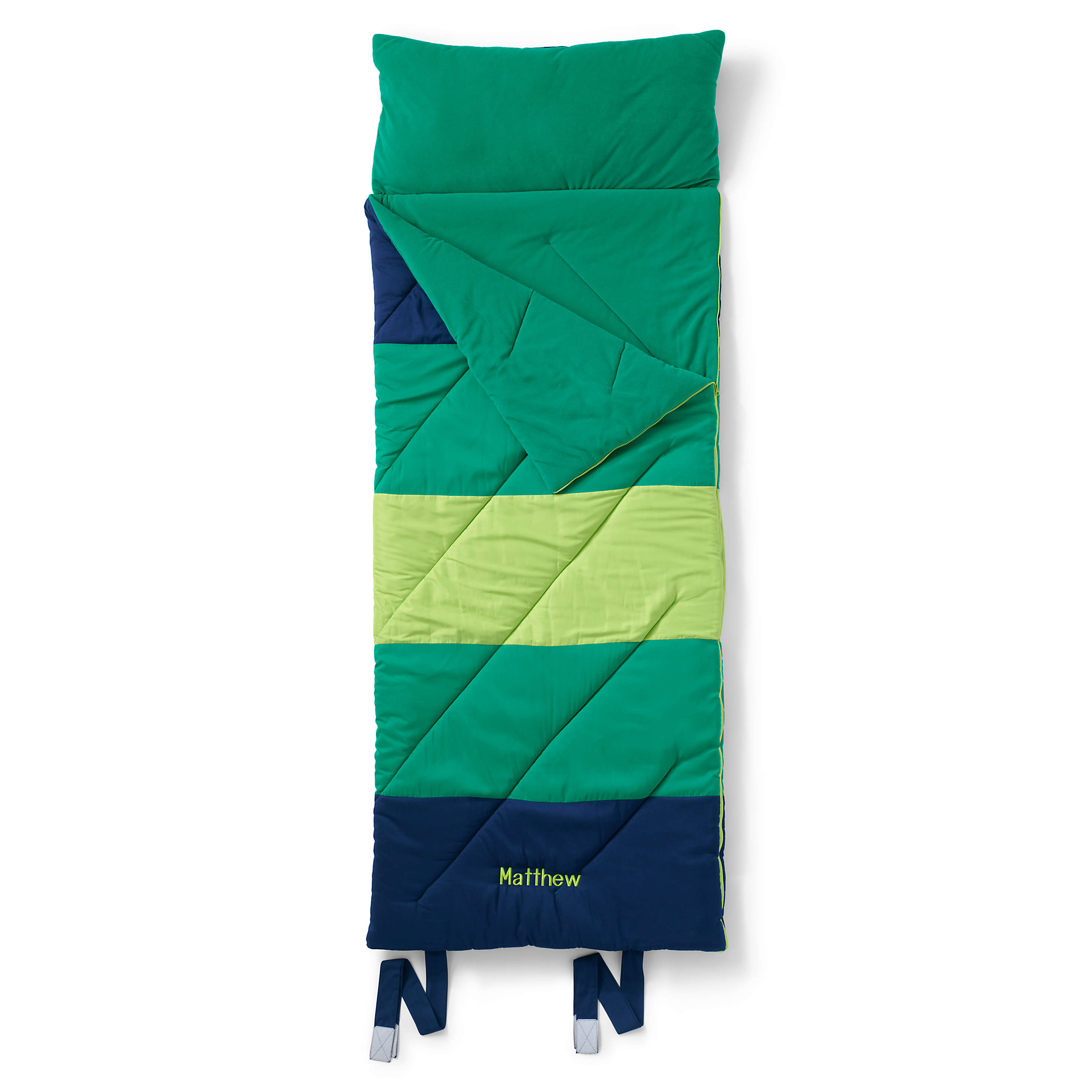Lands' End Kids Sleeping Bag with Pillow