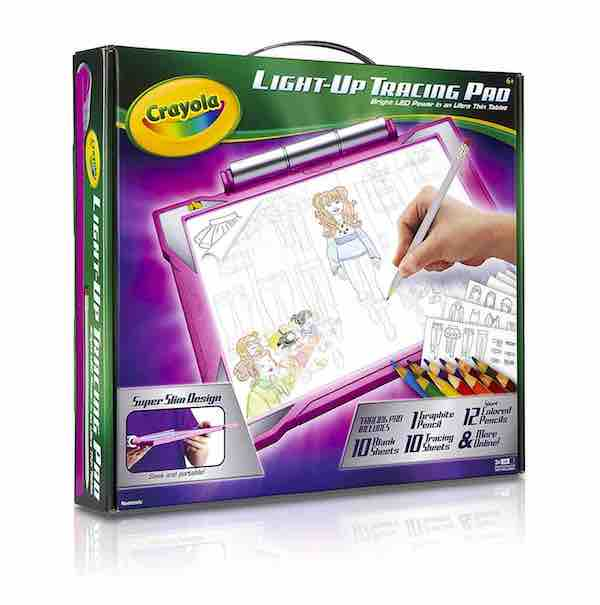 Crayola Light-up Tracing Pad in Pink