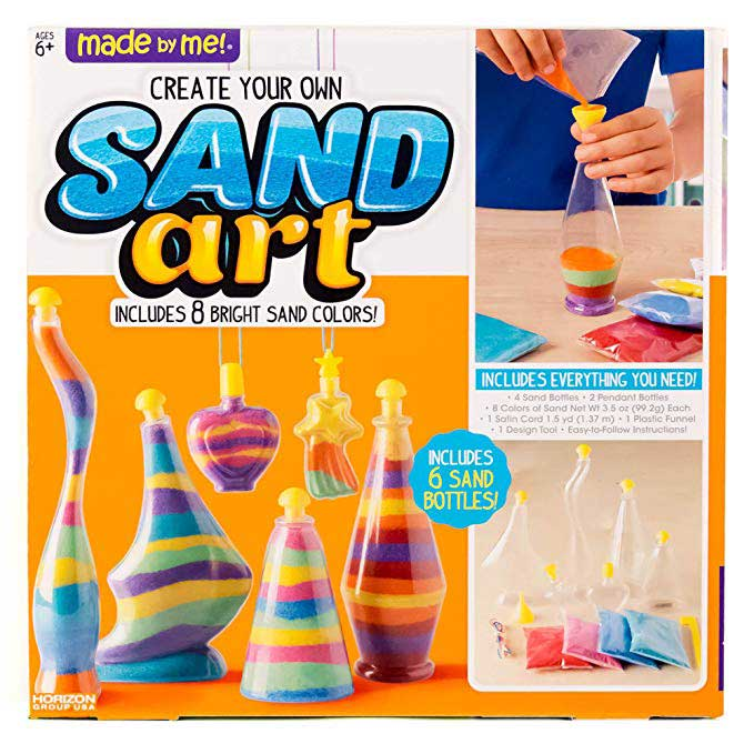 Made By Me Create Your Own Sand Art