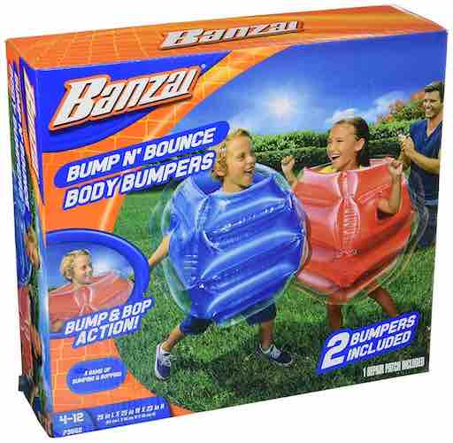 BANZAI Bump n Bounce Body Bumpers