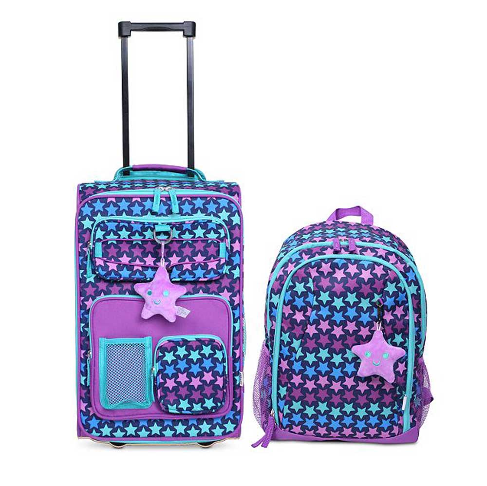Crckt 2-Piece Carry-On Suitcase and Backpack Set