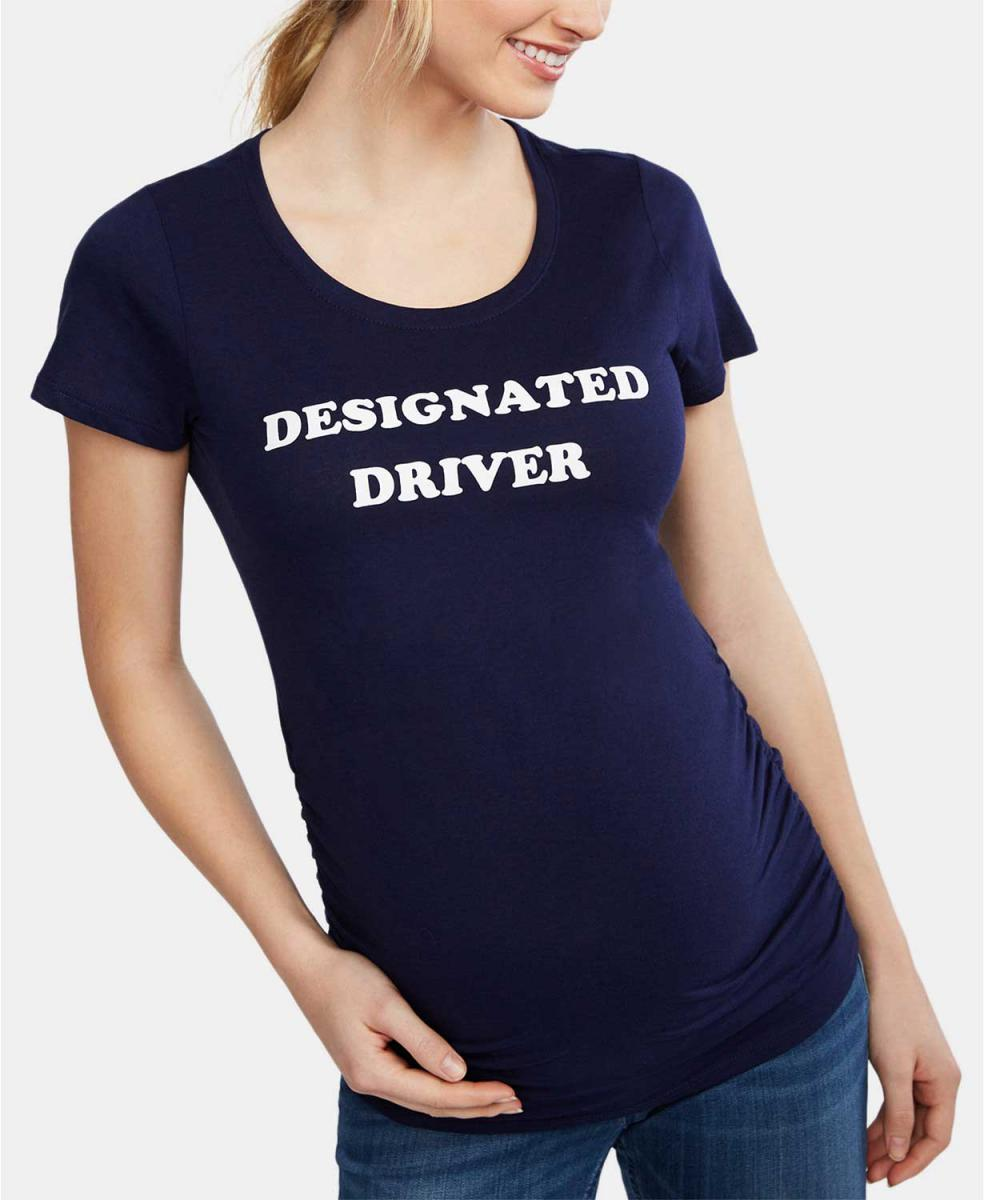 Designated Driver Maternity T-Shirt