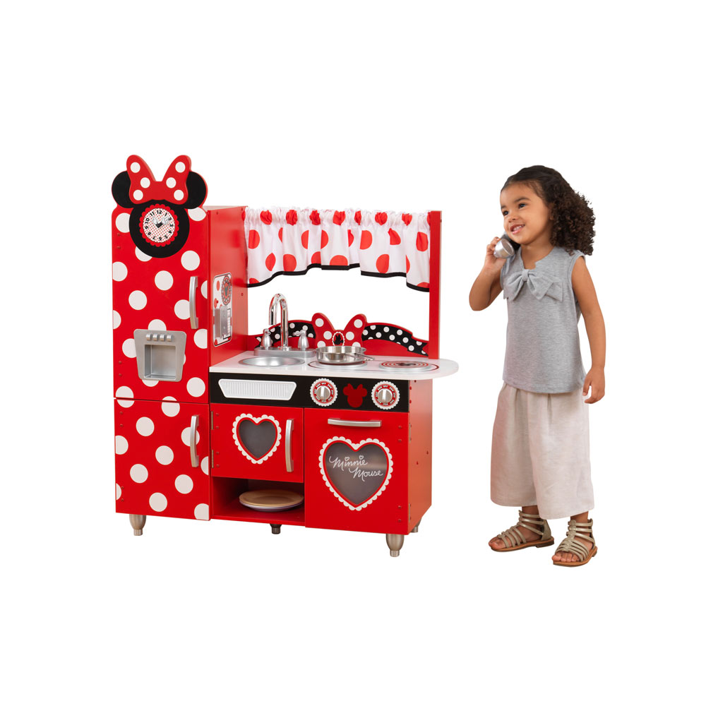 Disney Jr. Minnie Mouse Vintage Play Kitchen by KidKraft