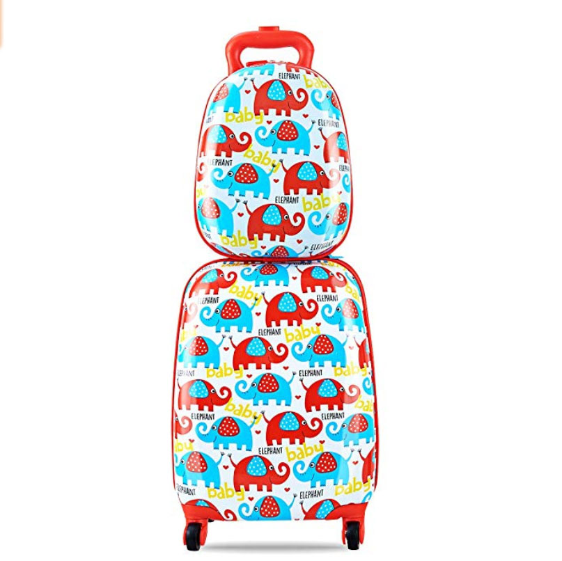 Goplus 2 Piece Kids Carry-On Luggage Set