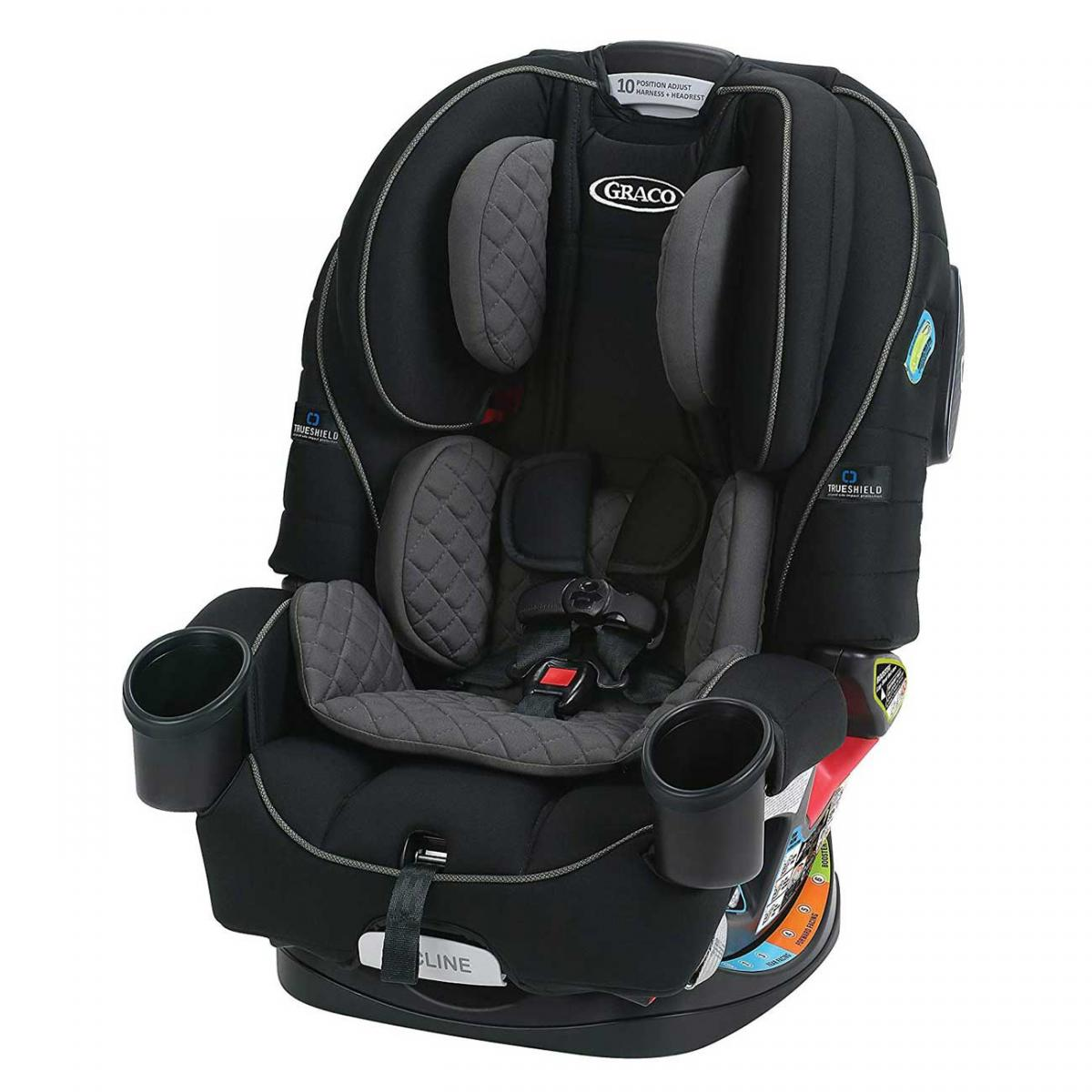 Graco 4-in-1 Car Seat Featuring TrueShield Technology