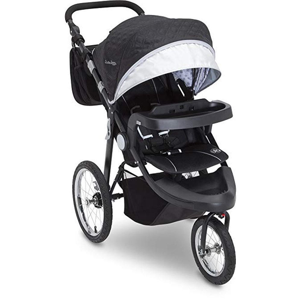 J is for Jeep Brand Cross-Country Sport Plus Jogger Stroller