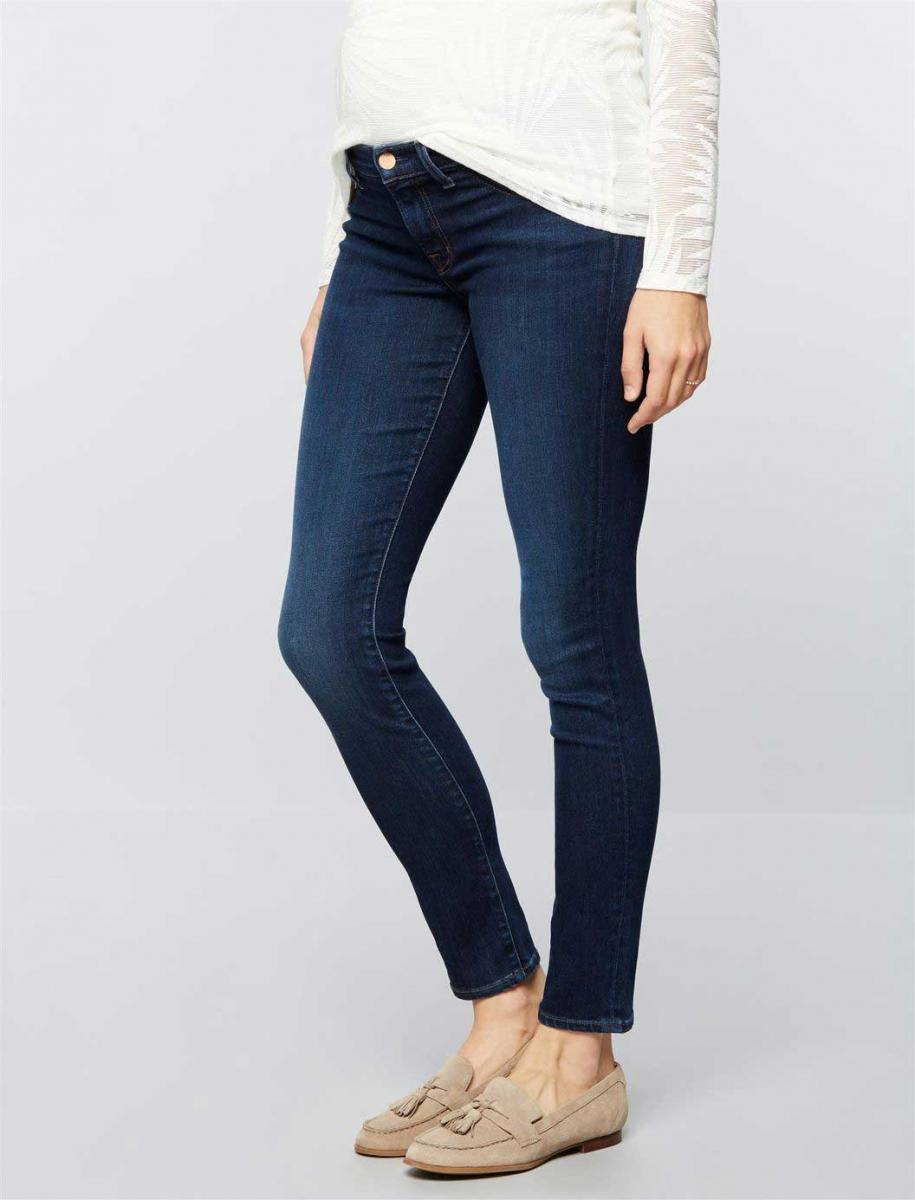 J Brand Under Belly Mama J Super Skinny Maternity Jeans