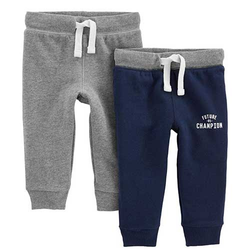 Simple Joys by Carter's 2-Pack Athletic Knit Joggers