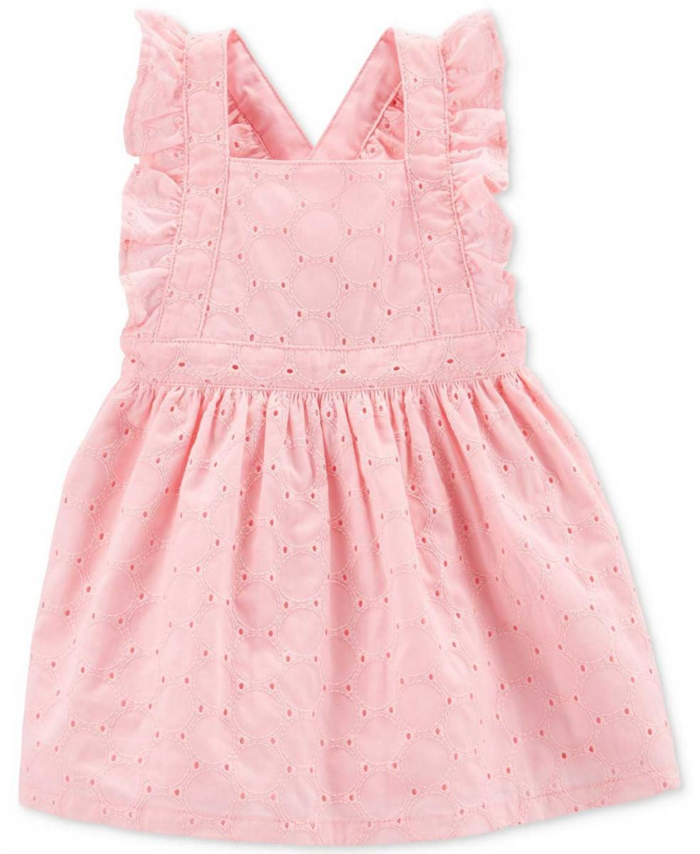 Carter's Cotton Eyelet Ruffle Dress