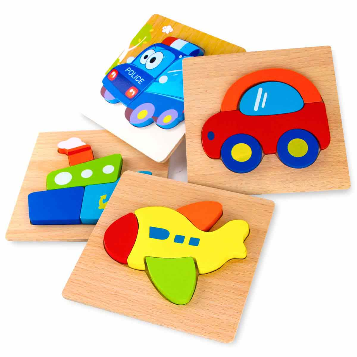 SKYFIELD Wooden Jigsaw Puzzles