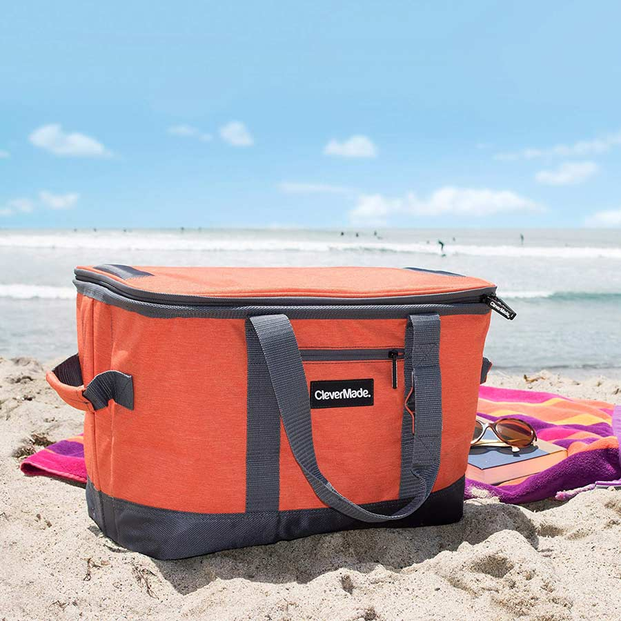 CleverMade Soft-Sided Collapsible Cooler