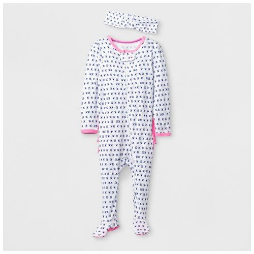 Cloud Island Ruffle Footed Sleeper 2 Pack