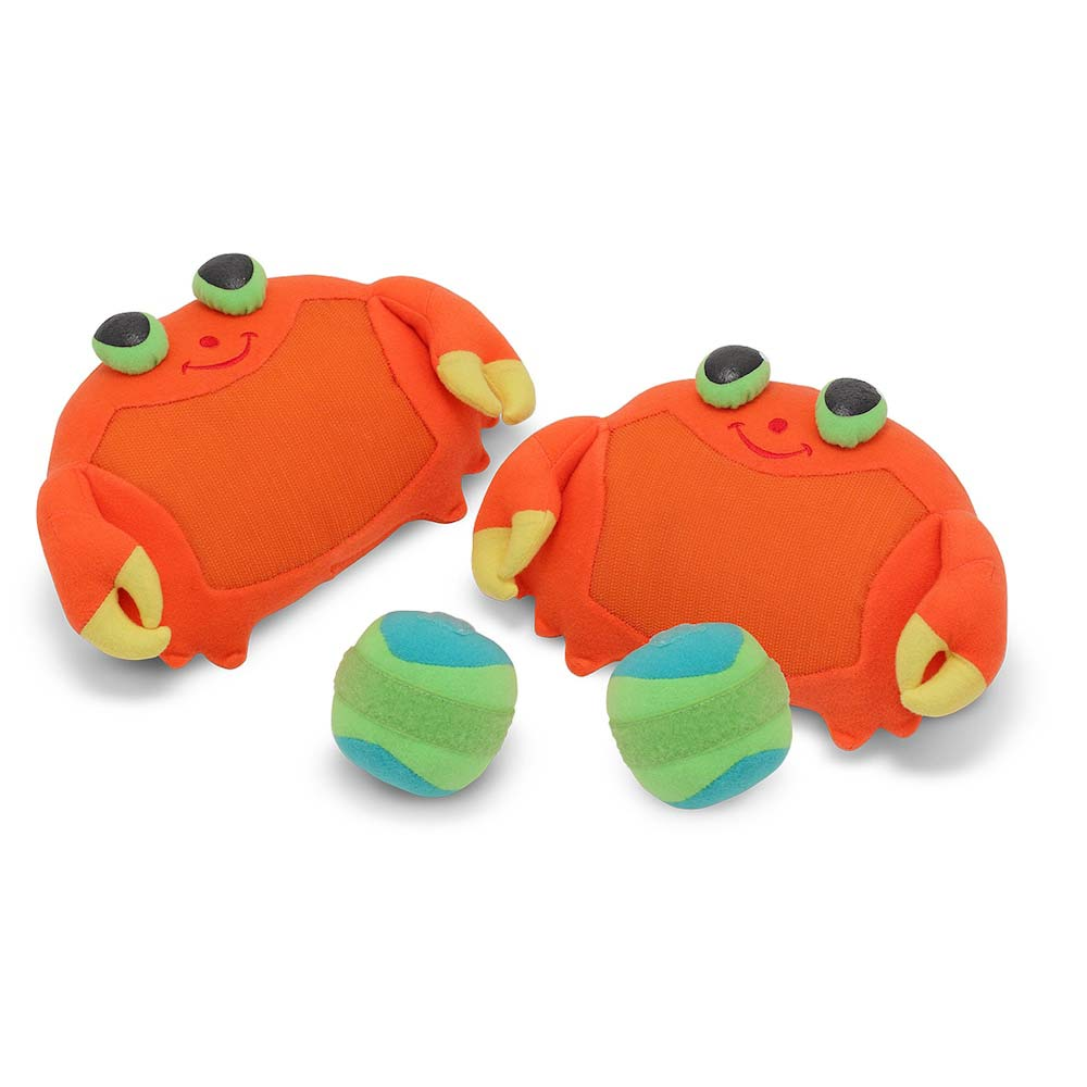 Melissa & Doug Sunny Patch Clicker Crab Toss & Grip Game for Kids