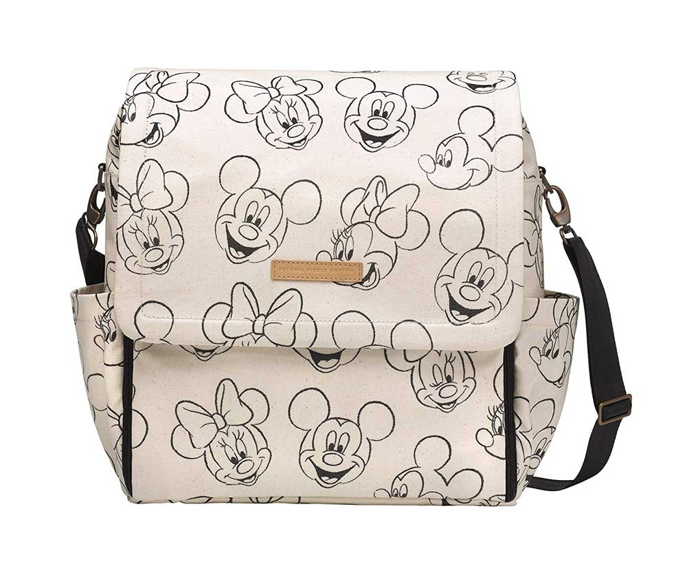 Petunia Pickle Bottom Mickey and Minnie Mouse Sketch Backpack Diaper Bag