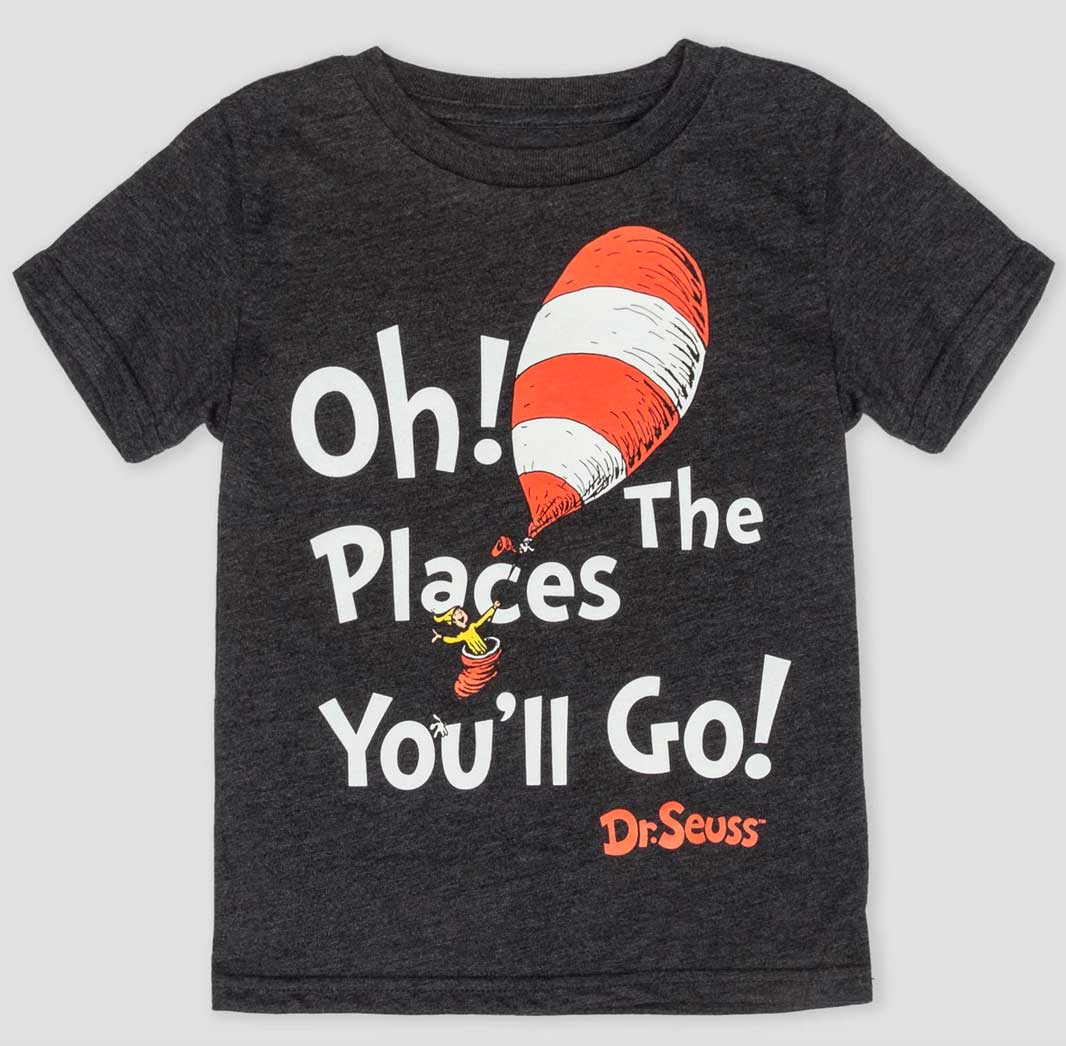 Dr. Seuss 'Oh! The Places You'll Go!' Short Sleeve T-Shirt