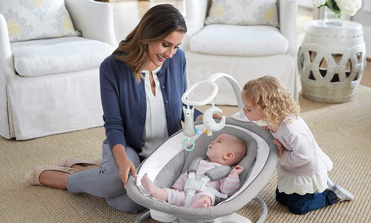 The Best Baby Swings Even Fussy Babies Will Love