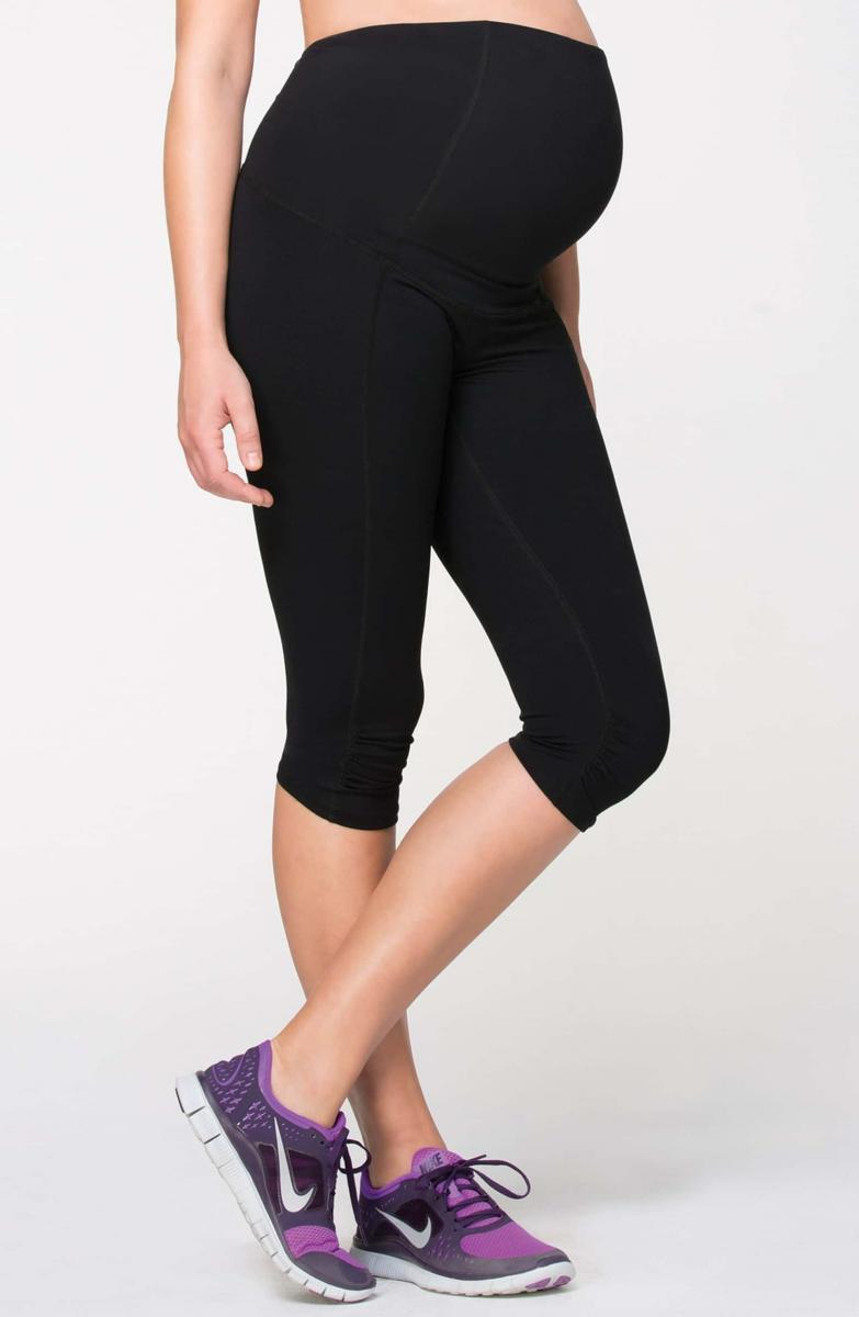 Ingrid & Isabel Knee Length Active Maternity Pants