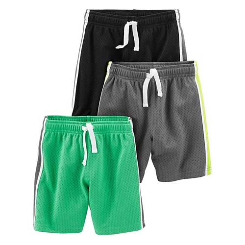 Simple Joys by Carter's 3-Pack Mesh Shorts