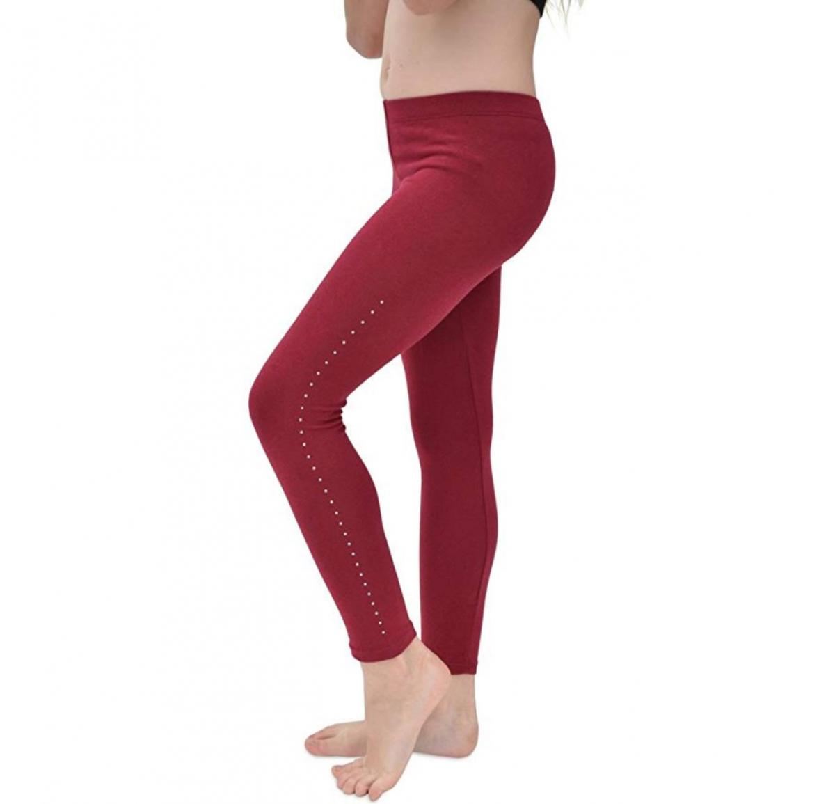 Stretch Is Comfort Girl's Footless Leggings
