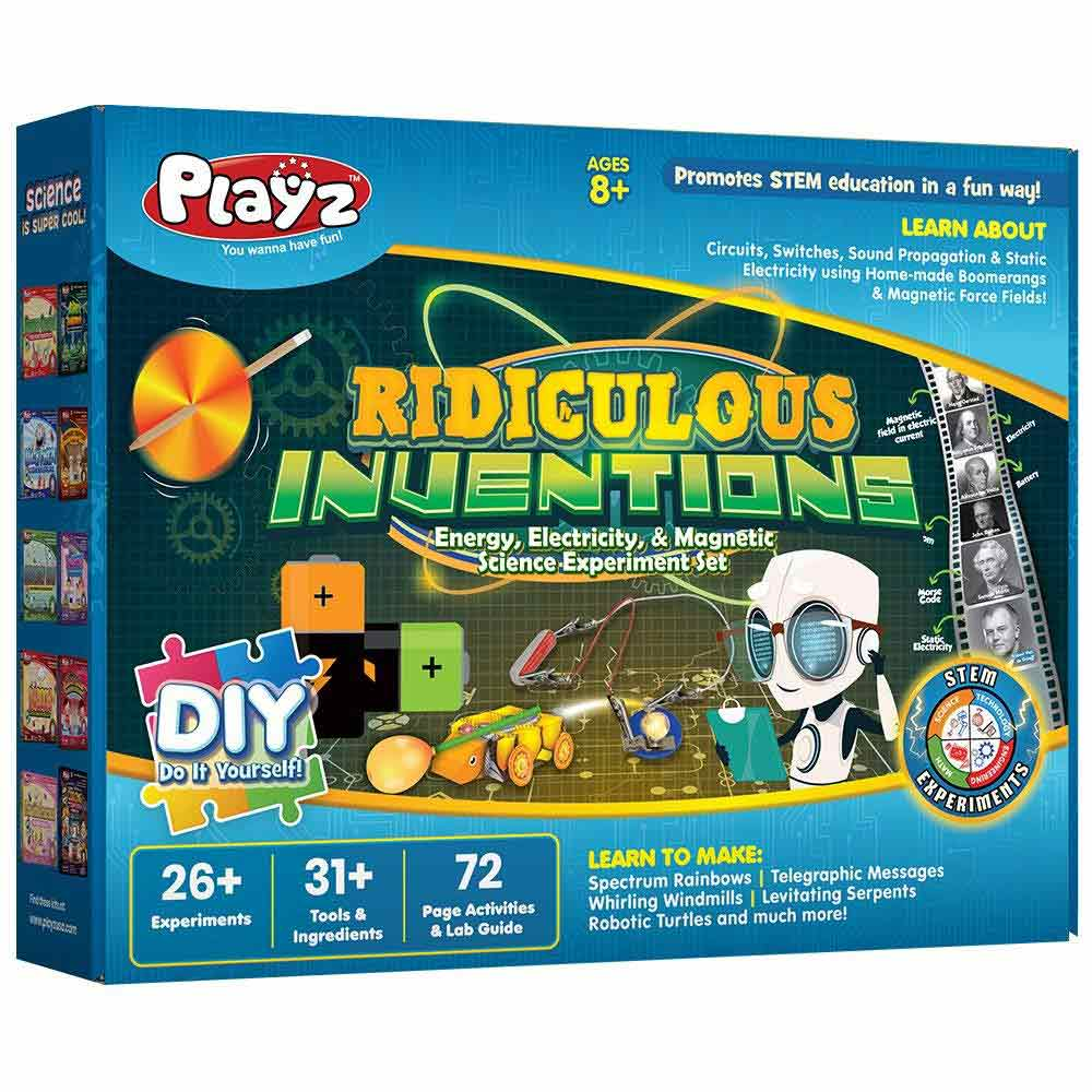 Playz Ridiculous Inventions Science Kit for Kids