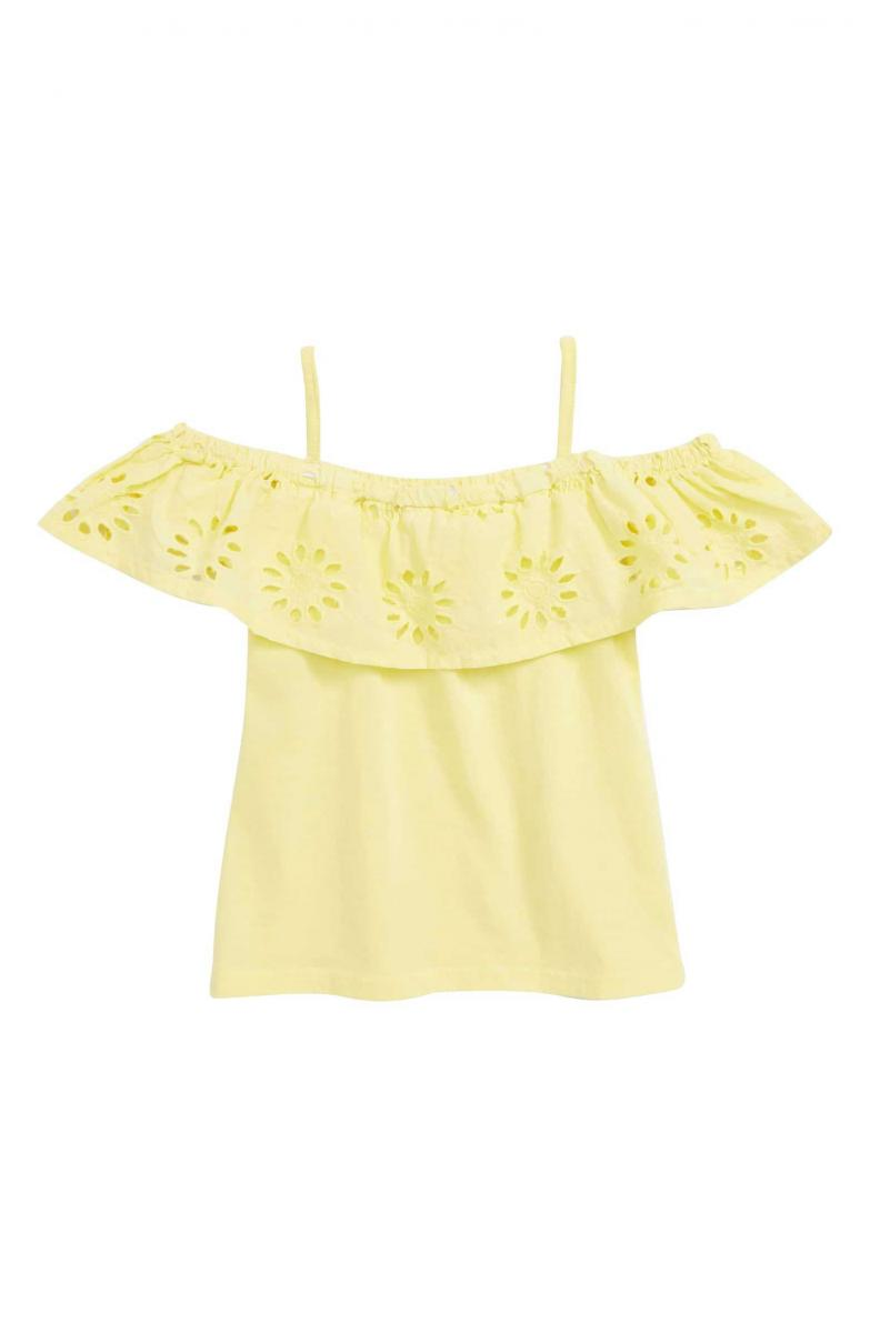 Peek Aren't You Curious Raelyn Embroidered Top